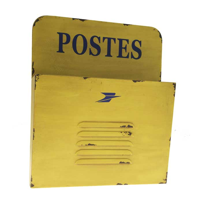 Range-courrier jaune Postes Antic Line