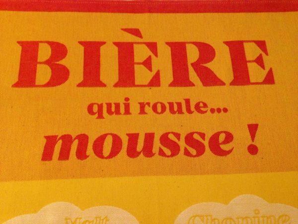 """Tissage Moutet - Collection Avec Modération """"Bière"""" by Divine Comédie"""