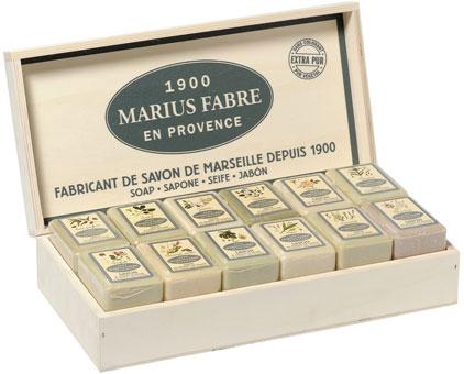 Savonnette base végétale Herbier de Marius Fabre