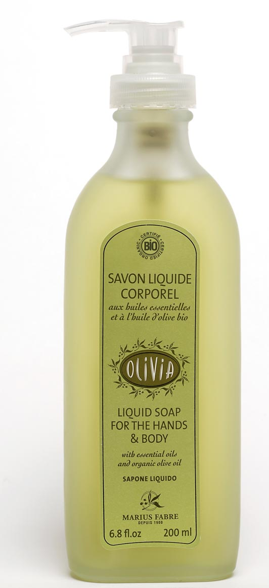 """Savon liquide corporel bio """"Olivia"""" Marius Fabre"""