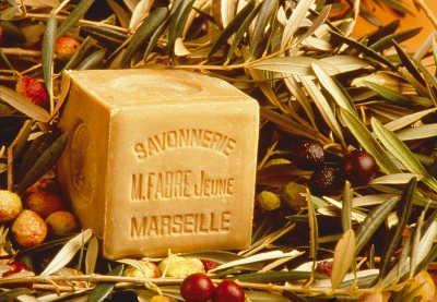 Véritable savon de Marseille à l'huile d'olive Marius Fabre