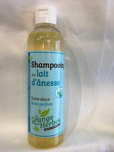 Shampooing au lait d'ânesse bio