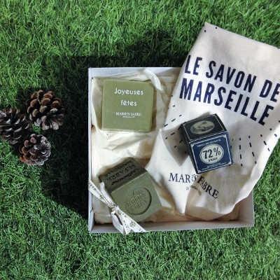 Coffret Découverte Savon de Marseille Marius Fabre