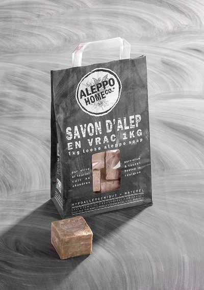 "Savon d'Alep en vrac 1 kg ""Aleppo Home Co."""