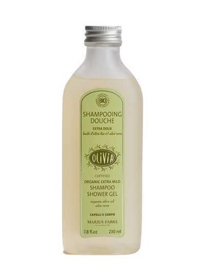 Shampooing-douche «extra-doux» à l'aloe vera bio «Olivia» Marius Fabre