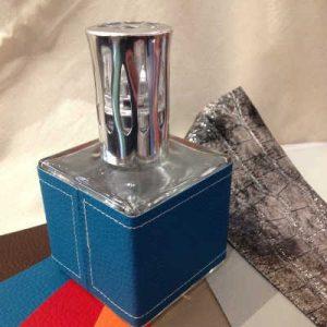 Lampe à Catalyse cube simili cuir Le Bel Aujourd'hui