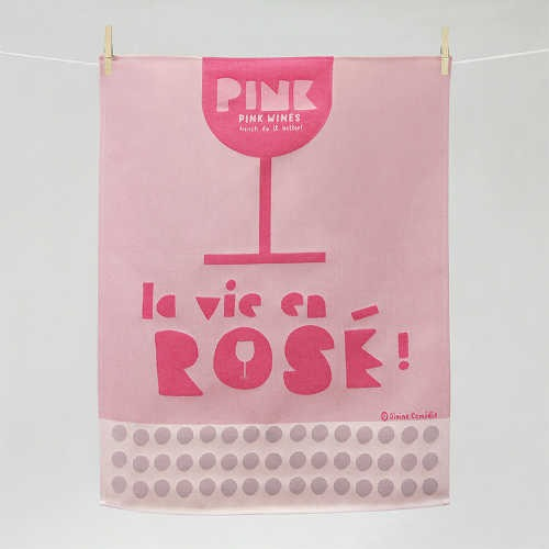 """Tissage Moutet - Collection Avec Modération """"La vie en Rosé"""" by Divine Comédie"""