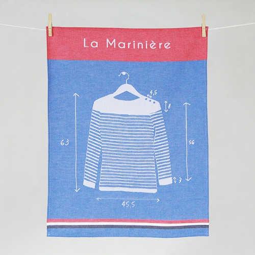 """Tissage Moutet - Collection Mer """"Marinière"""""""