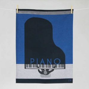 "Tissage Moutet - Collection Musique ""Piano"" by LN"