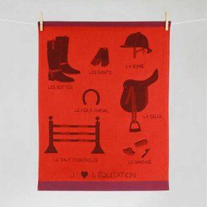 "Tissage Moutet - Collection Sports ""Equitation"""