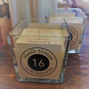 "Bougie Parfumée Vanille-Verveine ""Le Bel aujourd'hui"""