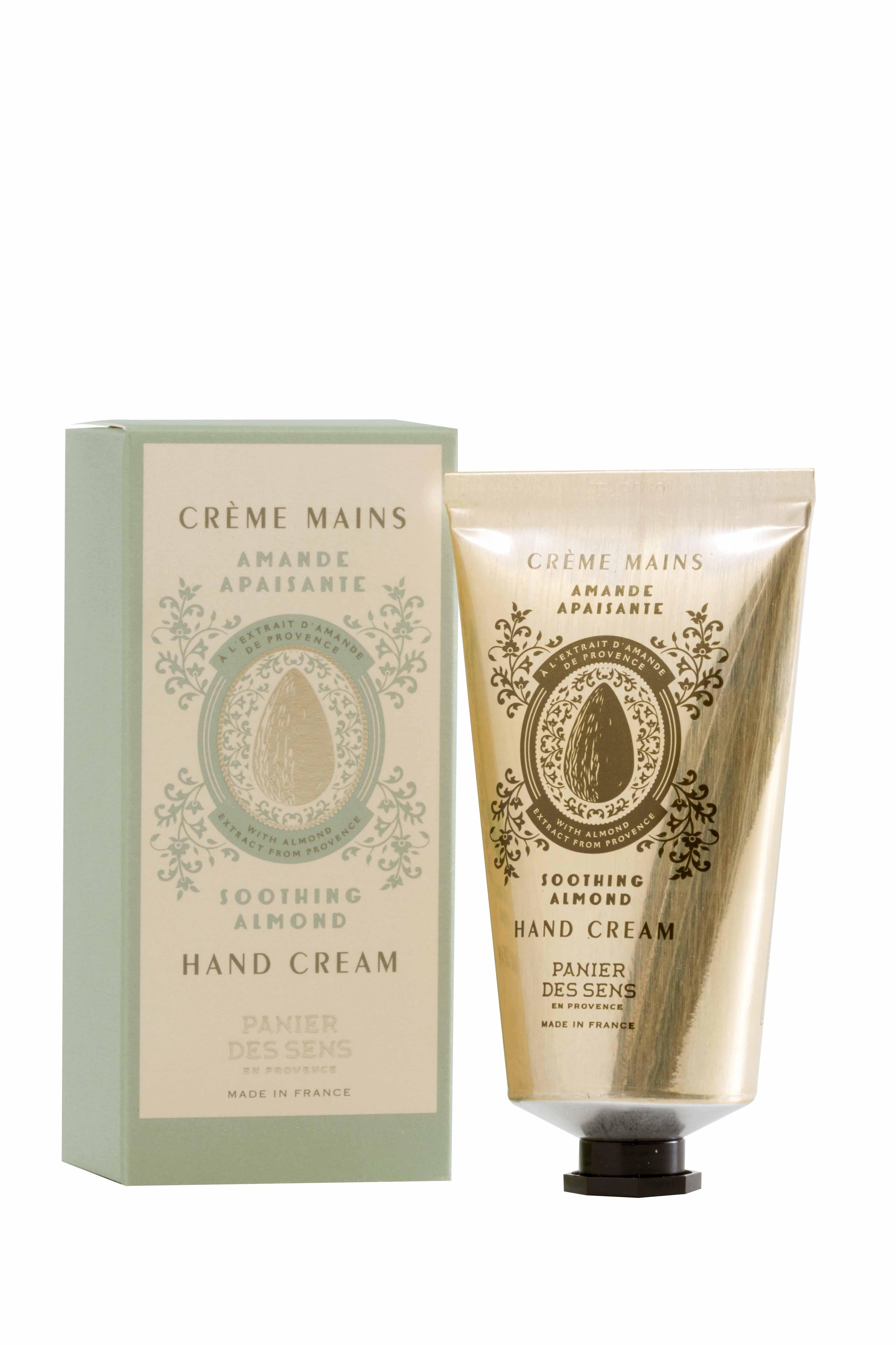 Crème MainsAmande Apaisante (75ml) - Panier des sens