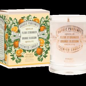 Bougie ParfuméeFleur d'Oranger - Panier des sens