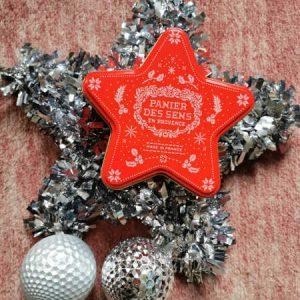Coffret étoile de Noël - 4 produits de soins à l'amande apaisante - Panier des Sens